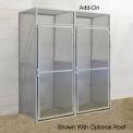 Hallowell BSL483690-R-1A-PL Bulk Tenant Storage Locker Single Tier Add-On 48x36x90