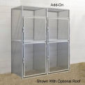 Hallowell BSL483690-R-2A-PL Bulk Storage Locker Double Tier Add-On 48x36x45
