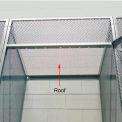 Hallowell 4804836PL Bulk Tenant Storage Locker Top 48X36 - Light Gray
