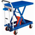Mobile Scissor Lift Table 660 Lb. Capacity