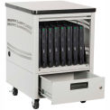 "Datum LapTop Depot Pedestal 5 Laptop Capacity 2"" Nylon Wheels, Series LTDP5-2"