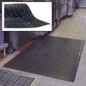 Cushion Station Anti Fatigue Drainage Mat 48 x 71 Black