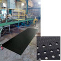 "Cushion Max Anti Fatigue Drainage Mat 48"" Wide Black from 3 Ft up to 45 Ft"