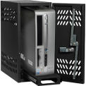 Datum Large Hanging CPU Locker-BLACK