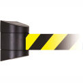 Warehouse Retractable Barrier Magnetic Mount 24 Ft Belt