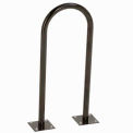 U-Bike Rack Black - 2 Bikes Flange Mount