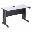 "Interion™ 36"" Desk Gray"