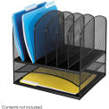 Onyx™ 2 Horizontal/6 Upright Sections Desktop Organizer