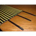 "36"" Heavy Duty Black Cable Tie - Pkg Qty 4"