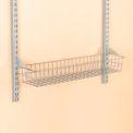 """Storability 15"""" Wire Basket With Lock On Brackets"""