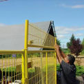 No Climb Yellow Panel for Perimeter Patrol™ Fence -  2 Panel Kit