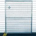 Chain Link Galvanized Fence - 4 Panel Kit