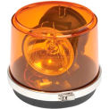 Permanent-Mount Revolving Amber Safety Light