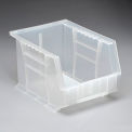 Premium Plastic Stacking Bin 8-1/4 x 10-3/4 x 7 Clear