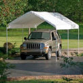 "Shelterlogic Max AP™ Canopy 25757, 10'W X 20'L, 1-3/8"" Frame, 6-Leg, White"