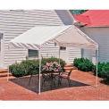 """Shelterlogic Max AP™ Compact Canopy 23521, 10'W X 10'L, 1-3/8"""" Frame, 4-Leg, White"""