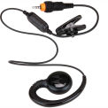 CLP Single Pin Short Cord Earpiece