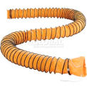 Global Flame Retardant Flexible Duct 16 Ft. L for 8 Inch Diameter Fan
