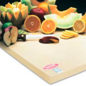 "Sani-Tuff® All-Rubber Cutting Board - 18"" x 24"" x 1"""