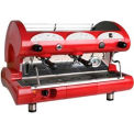 La Pavoni BAR STAR Series Commercial Espresso Machine - Red 2 Group