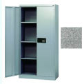 Keyless Electronic Welded Storage Cabinet 36x18x66 - Granite
