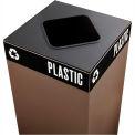 Public Square® Plastic/Waste Square Opening Lid