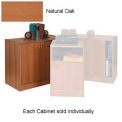 Wood Hinged Door Cabinet Natural Oak