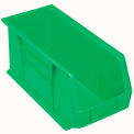 Akro Bins Plastic Stacking Bin 8-1/4 X 18 X 9 Green