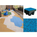 PlayGuard® Ultra Carnival Tile 24x24x4-1/4 95% Blueberry Pie - 8' Fall Ht