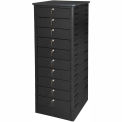 Datum TekStak Laptop Storage Charging Locker 10 Tier Key Lock Laminate Top