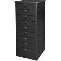 Datum TekStak Laptop Storage Locker 9 Tier Key Lock Laminate Top