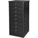 Datum TekStak Laptop Storage Locker 8 Tier Key Lock Laminate Top, Series TEKS8-K