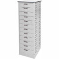 Datum TekStak Laptop Storage Locker 12 Tier Electronic Lock Laminate Top
