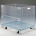 Nashville Wire Folding Wire Container GCAKIT42P Caster Kit for 40x32 & 48x40 Folding Wire Containers