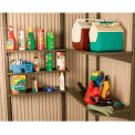 "14"" x 30"" 5 Pack Shelf Accessory Kit For Lifetime Sheds"