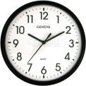 "Geneva 13.5"" Quartz Plastic Wall Clock"