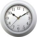 "Advance 9"" Plastic Wall Clock - White"