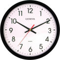 "Geneva 14"" Quartz Plastic Wall Clock"