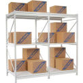 Extra High Capacity Bulk Rack-White 48 x 48 x 96 (3-Level) Add-On