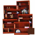 "Excalibur Bookcase 36"" H, Walnut"