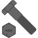 3/4-10X4  Heavy Hex Structural Bolts A325-1 Plain, Pkg of 80