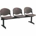 Beam Seating - 3 Charcoal Seats