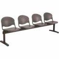 Beam Seating - 4 Charcoal Seats