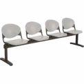 Beam Seating - 4 Cool Gray Seats