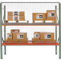 Husky Rack & Wire  RGW0904, 9' x 4' Wire Mesh Pallet Rack Guard