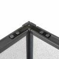 "90 Degree Corner Connector Kit For 64"" H Panel"