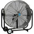 36 Inch Portable Tilt Drum Blower Fan - Belt Drive
