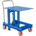 "Portable Die Lifting Table 2000 Lb. Cap. 30"" to 48"" Height"