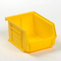 Global Plastic Stacking Bin 4-1/8x5-3/8x3 Yellow