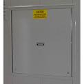 Explosion Relief Panel Upgrade for Outdoor Hazardous Storage Building - 12 Drum